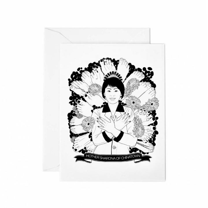 MOTHER SHARONA OF CHINATOWN_greetingcards